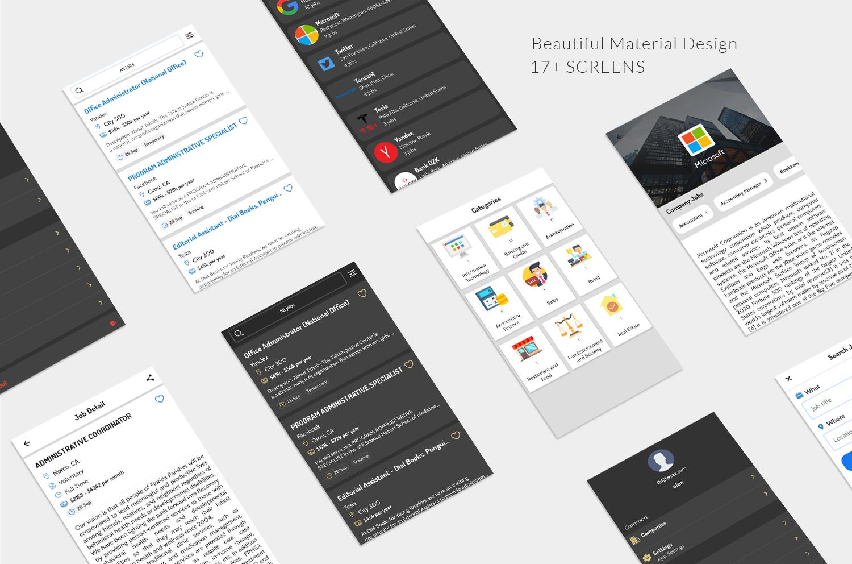Job App by OddiApps screen-1